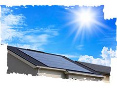 地球温暖化にストップをかける、クリーンエネルギー