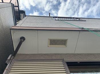 軒天井施工前