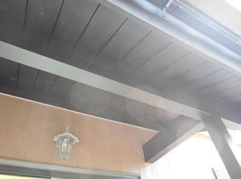 軒天井 施工後