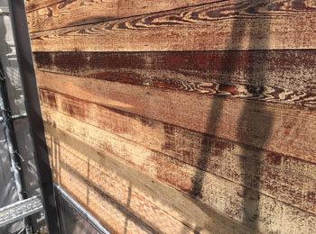 外壁 木部 施工前