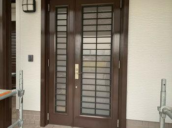 玄関ドア 施工後