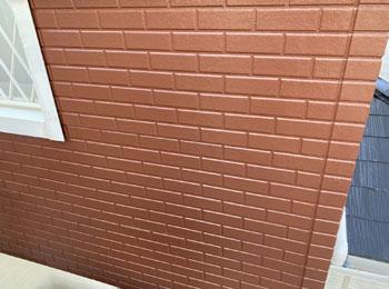 外壁 施工後